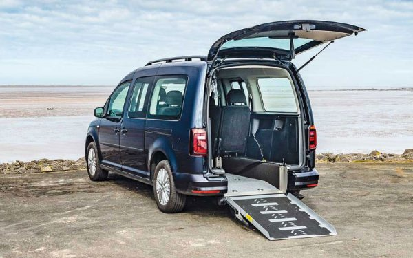 Lewis Reed Group | Wheelchair Accessible Vehicles | VW Caddy Maxi Rear Ramp