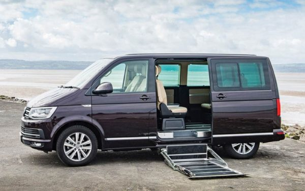 Lewis Reed Group | Wheelchair Accessible Vehicles | VW T6.1 Caravelle Side Entry Lift
