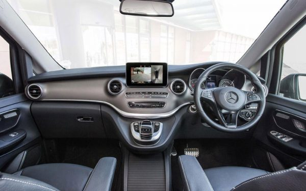 Lewis Reed Group | Wheelchair Accessible Vehicles | Mercedes-Benz V-Class AMG Cockpit