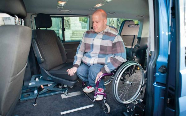 Lewis Reed Group | Wheelchair Accessible Vehicles | VW T6.1 Shuttle SE Drive From Seating