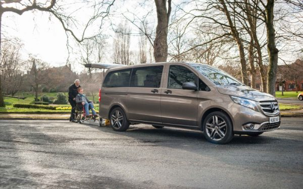 Lewis Reed Group | British Supplier of Wheelchair Accessible Vehicles | Van Wheelchair and Lift | grey merc