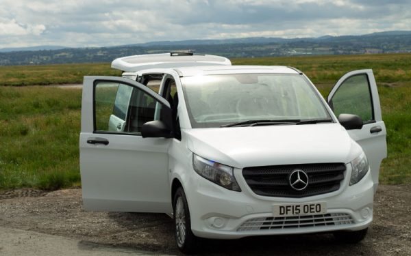 Lewis Reed Group | British Supplier of Wheelchair Accessible Vehicles | Van Wheelchair and Lift | whiet van