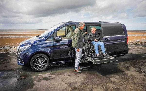 Lewis Reed Group | Wheelchair Accessible Vehicles | Mercedes-Benz V-Class AMG Lift