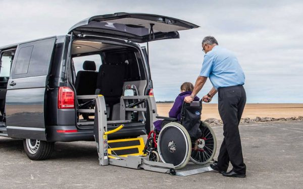 Lewis Reed Group | Wheelchair Accessible Vehicles | VW T6.1 Caravelle Lift