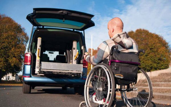 Lewis Reed Group | Wheelchair Accessible Vehicles | VW T6.1 Shuttle SE Drive From Rear Lift