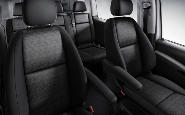 Lewis Reed Group | Wheelchair Accessible Vehicles | Mercedes-Benz Vito Seats