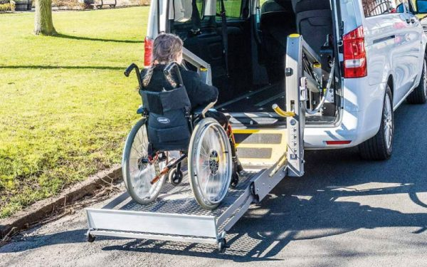 Lewis Reed Group | Wheelchair Accessible Vehicles | Mercedes-Benz Vito Lift