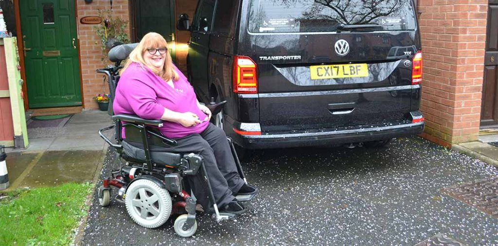 Lewis Reed Group | British Supplier of Wheelchair Accessible Vehicles | Van Wheelchair and Lift | angela2
