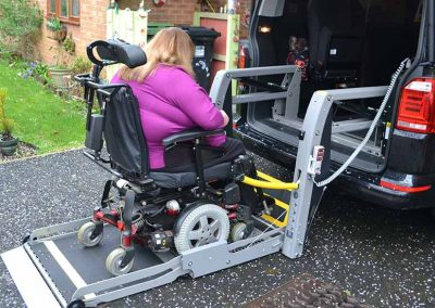 Lewis Reed Group | British Supplier of Wheelchair Accessible Vehicles | Van Wheelchair and Lift | angela