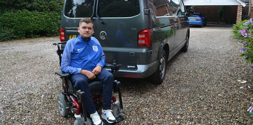 Lewis Reed Group | British Supplier of Wheelchair Accessible Vehicles | Van Wheelchair and Lift | chris