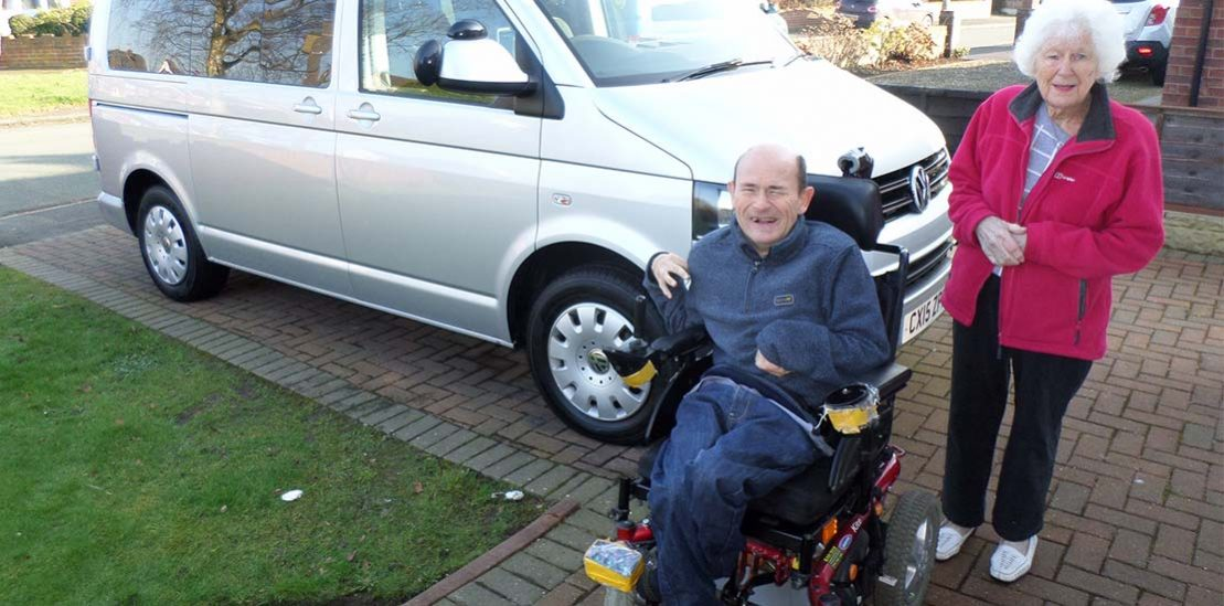 Lewis Reed Group | British Supplier of Wheelchair Accessible Vehicles | Van Wheelchair and Lift | david