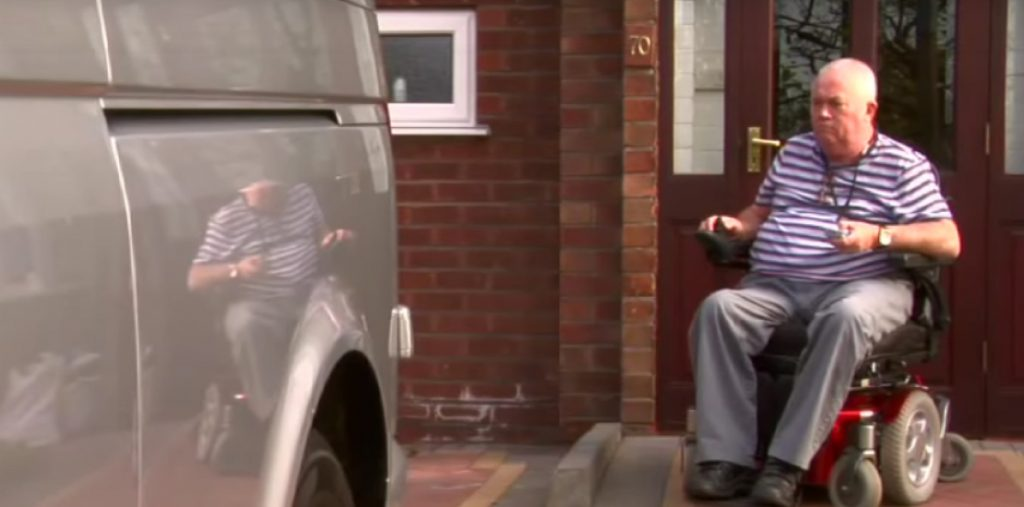 Wheelchair Accessible Vehicles | Lewis Reed Group | Customer