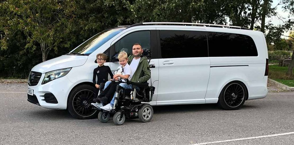 Lewis Reed Group | British Supplier of Wheelchair Accessible Vehicles | Van Wheelchair and Lift | greg