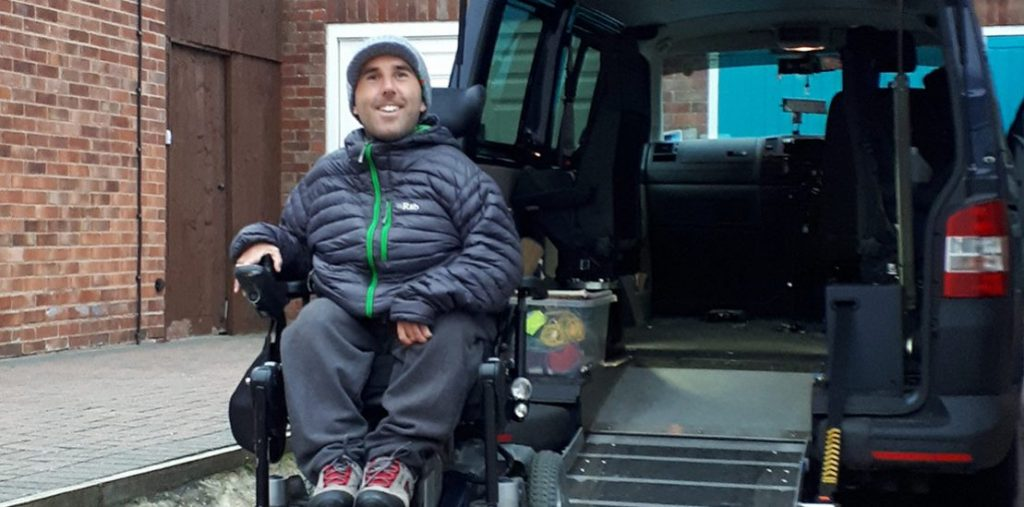 Lewis Reed Group | British Supplier of Wheelchair Accessible Vehicles | Van Wheelchair and Lift | martyn