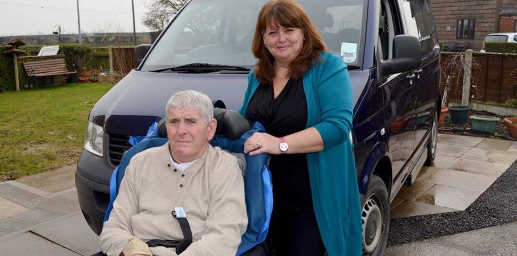 Lewis Reed Group | British Supplier of Wheelchair Accessible Vehicles | Van Wheelchair and Lift | peter