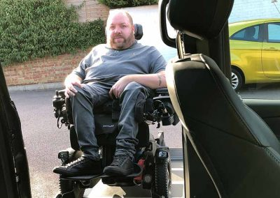 Lewis Reed Group | British Supplier of Wheelchair Accessible Vehicles | Van Wheelchair and Lift | man by merc