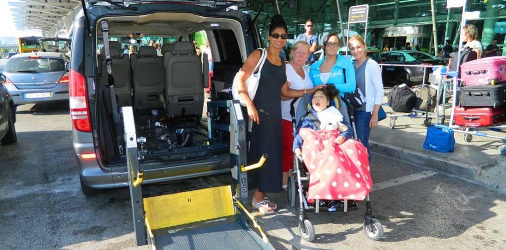 Lewis Reed Group | British Supplier of Wheelchair Accessible Vehicles | Van Wheelchair and Lift | ramp by airport