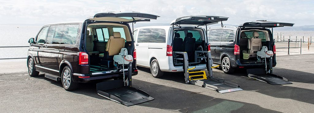 Wheelchair Accessible Vehicles | Lewis Reed Group | 3 WAVs