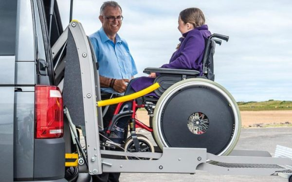 Lewis Reed Group | Wheelchair Accessible Vehicles | Rear Lift