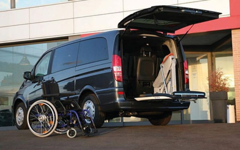Lewis Reed Group | Wheelchair Accessible Vehicles | Fiorella F360 & Slim Fit Rear Lift