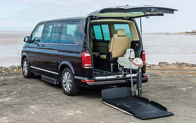 Lewis Reed Group | Wheelchair Accessible Vehicles | Fiorella F-Twister Lift