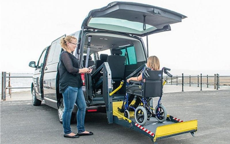 Lewis Reed Group | Wheelchair Accessible Vehicles | Ricon Rear Lift