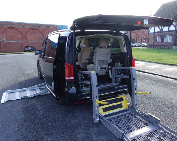 Lewis Reed Group   British Supplier of Wheelchair Accessible Vehicles   Mercedes-benz V-Class Upfront side