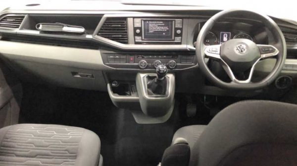 Lewis Reed Group | British Supplier of Wheelchair Accessible Vehicles | VW T6.1 Shuttle dashboard