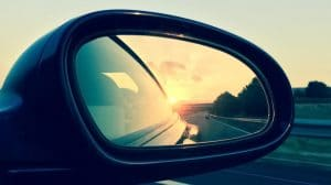 Lewis Reed Group | British Supplier of Wheelchair Accessible Vehicles | Wing Mirror with view