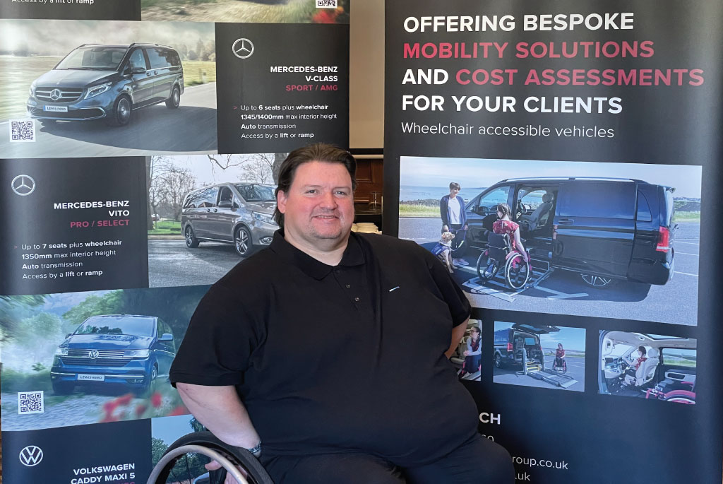 Lewis Reed Group | British Supplier of Wheelchair Accessible Vehicles | Van Wheelchair and Lift | terryc